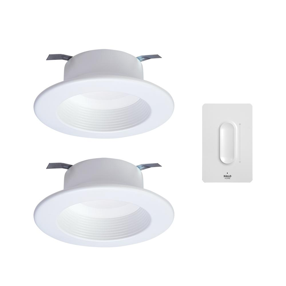 Halo 4 In Selectable White Integrated Led Recessed Light Retrofit