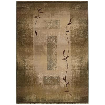 Mantra Green 7 ft. x 9 ft. Area Rug