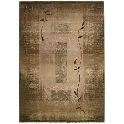Mantra Green 4 ft. x 6 ft. Area Rug