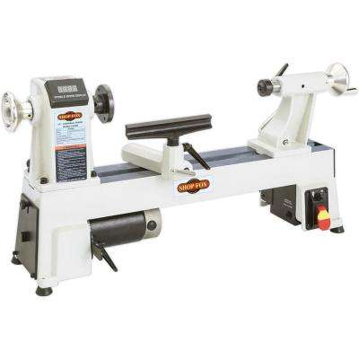 12 in. x 18 in. 120-Volt 3/4 HP Variable Speed Benchtop Wood Lathe