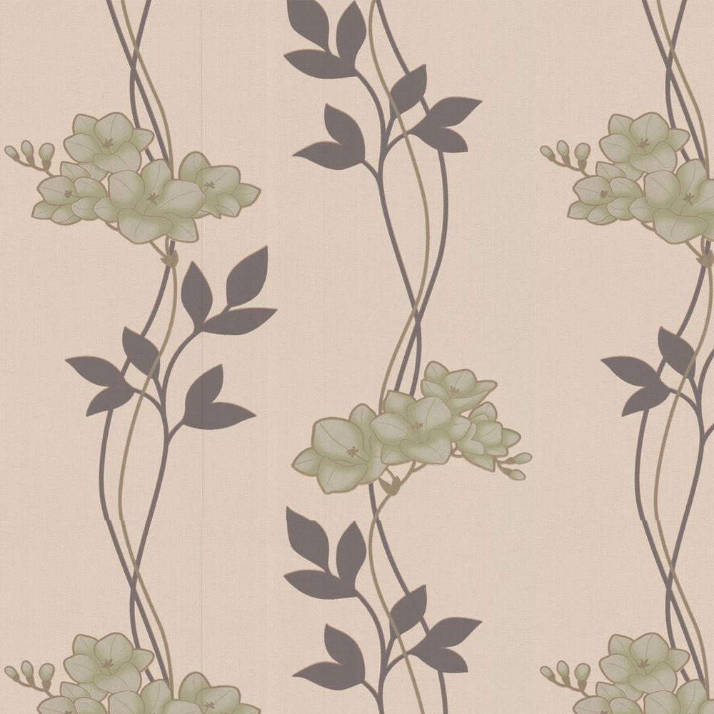 Graham & Brown 56 sq. ft. Serene Green Wallpaper
