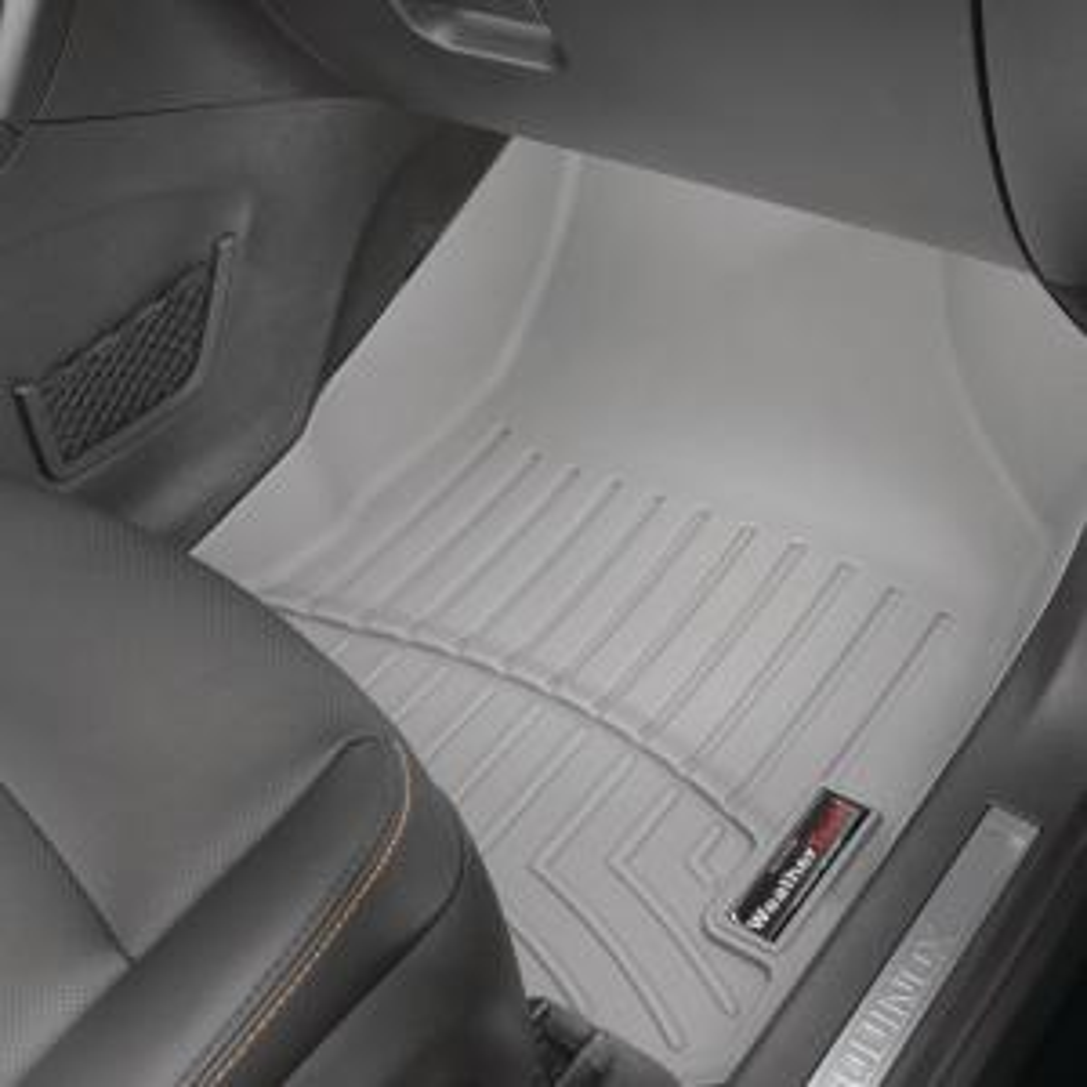 WeatherTech Custom Fit Rear FloorLiner for Dodge Ram 1500 Crew Cab Grey