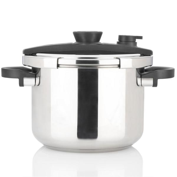 EZLock 8 Qt. Stainless Steel Stovetop Pressure Cooker