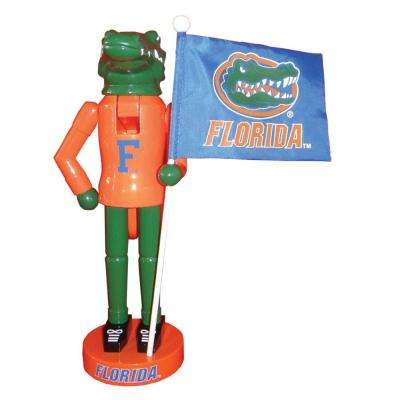 12 in. Florida Mascot Nutcracker with Flag