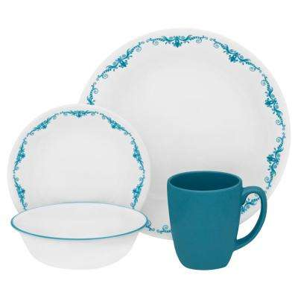 Classic 16-Piece Garden Lace Dinnerware Set