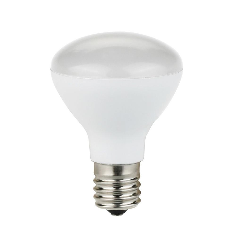 TriGlow 25-Watt Equivalent R14 Mini Reflector E17 Base LED Light Bulb