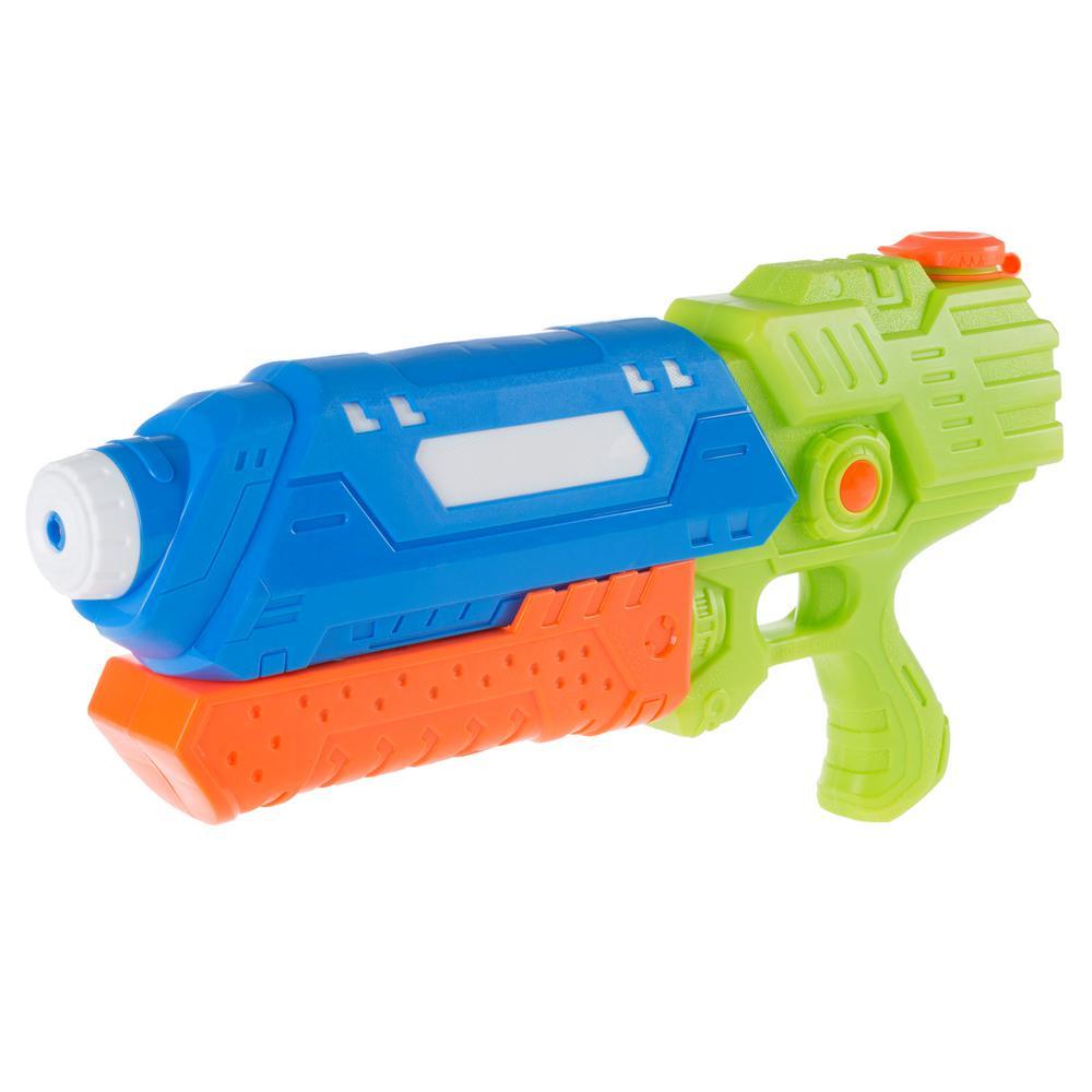 Blue and Orange Water Gun Soaker