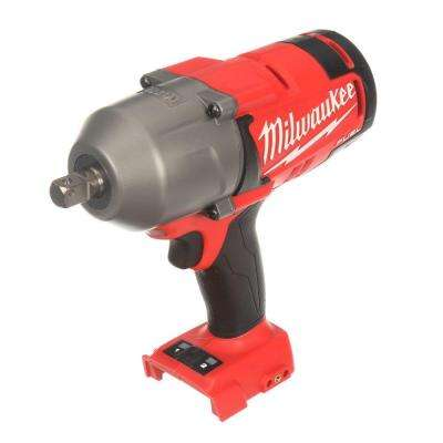M18 FUEL 18-Volt Lithium-Ion Brushless Cordless 1/2 in. High Torque Impact Wrench with Pin Detent (Bare Tool)