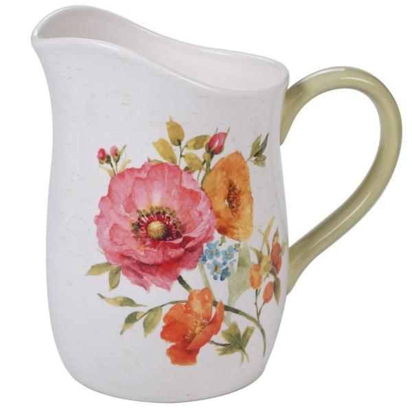 Certified International Country Fresh Multi-Colored 3 oz. Pitcher 26809