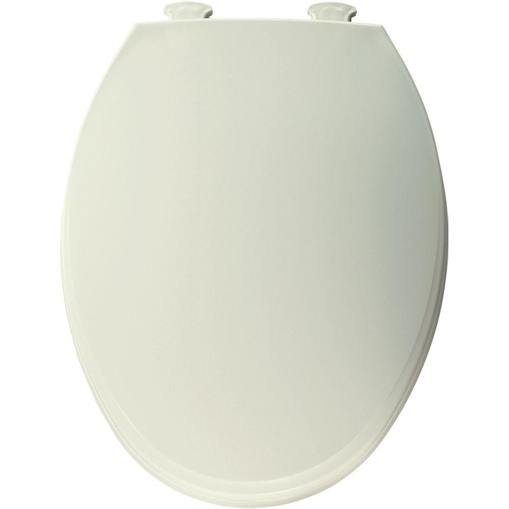Church Elongated Closed Front Toilet Seat In Biscuit 130ec 346 The