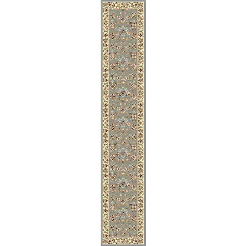 Safavieh Lyndhurst Light Blue/Ivory 2 ft. 3 in. x 18 ft. Runner