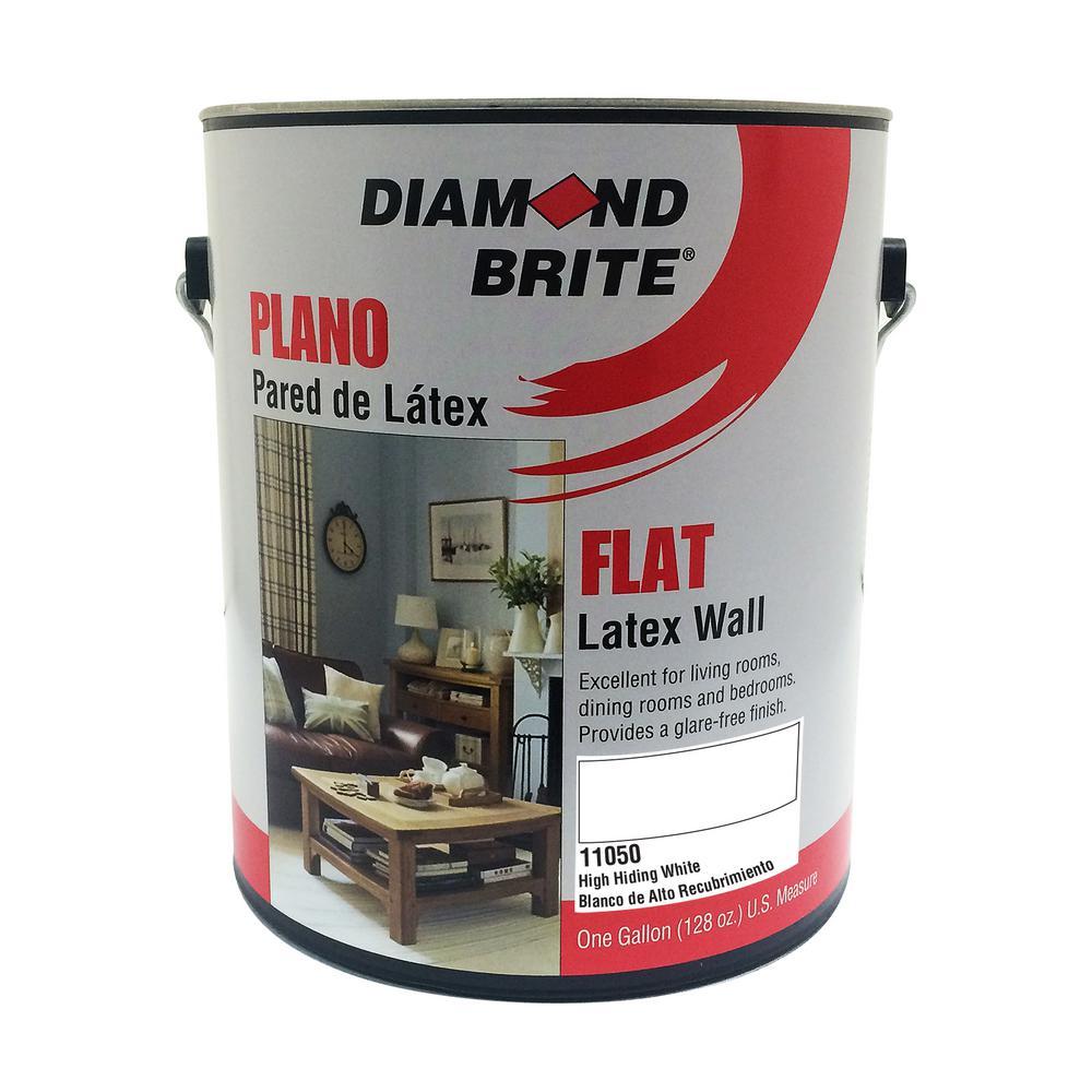 1 gal. High Hiding White Flat Latex Interior Paint