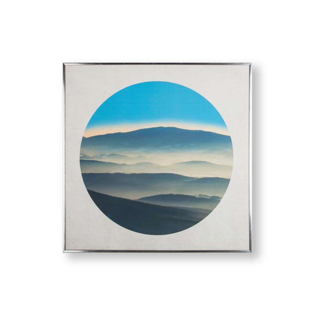 Graham & Brown Mountain Breeze Framed Canvas Wall Art 105879