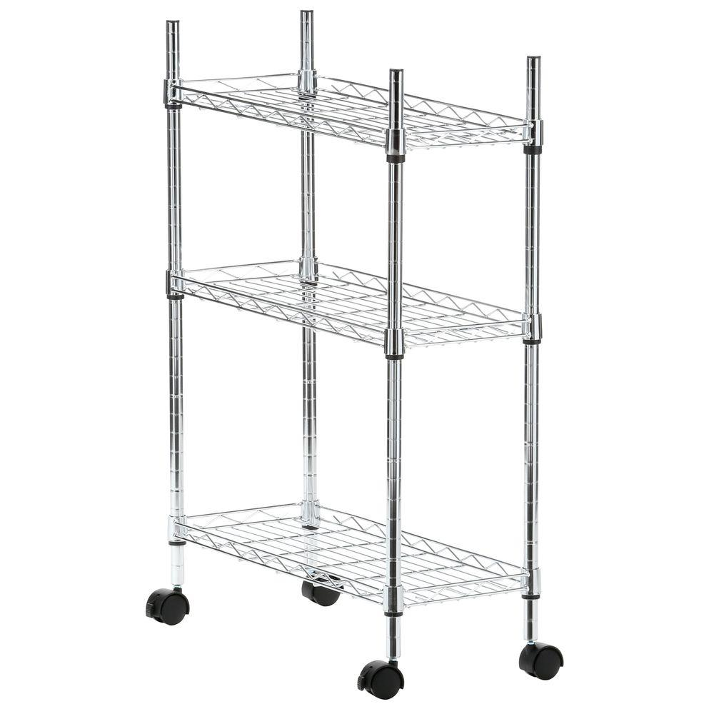 Supreme Shelving Collection 22 5 In X 31 75 Laundry Cart