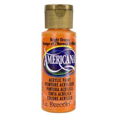 Americana 2 oz. Bright Orange Acrylic Paint