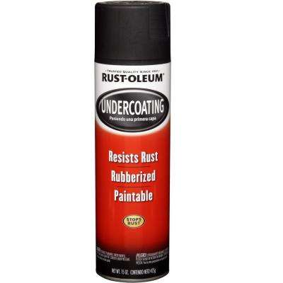 15 oz. Rubberized Undercoating Black Spray Paint (6-Pack)