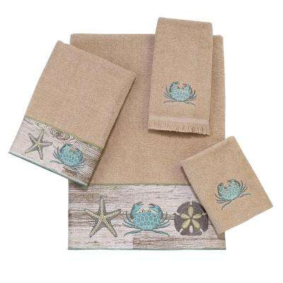 Portland 4-Piece Bath Towel Set in Linen