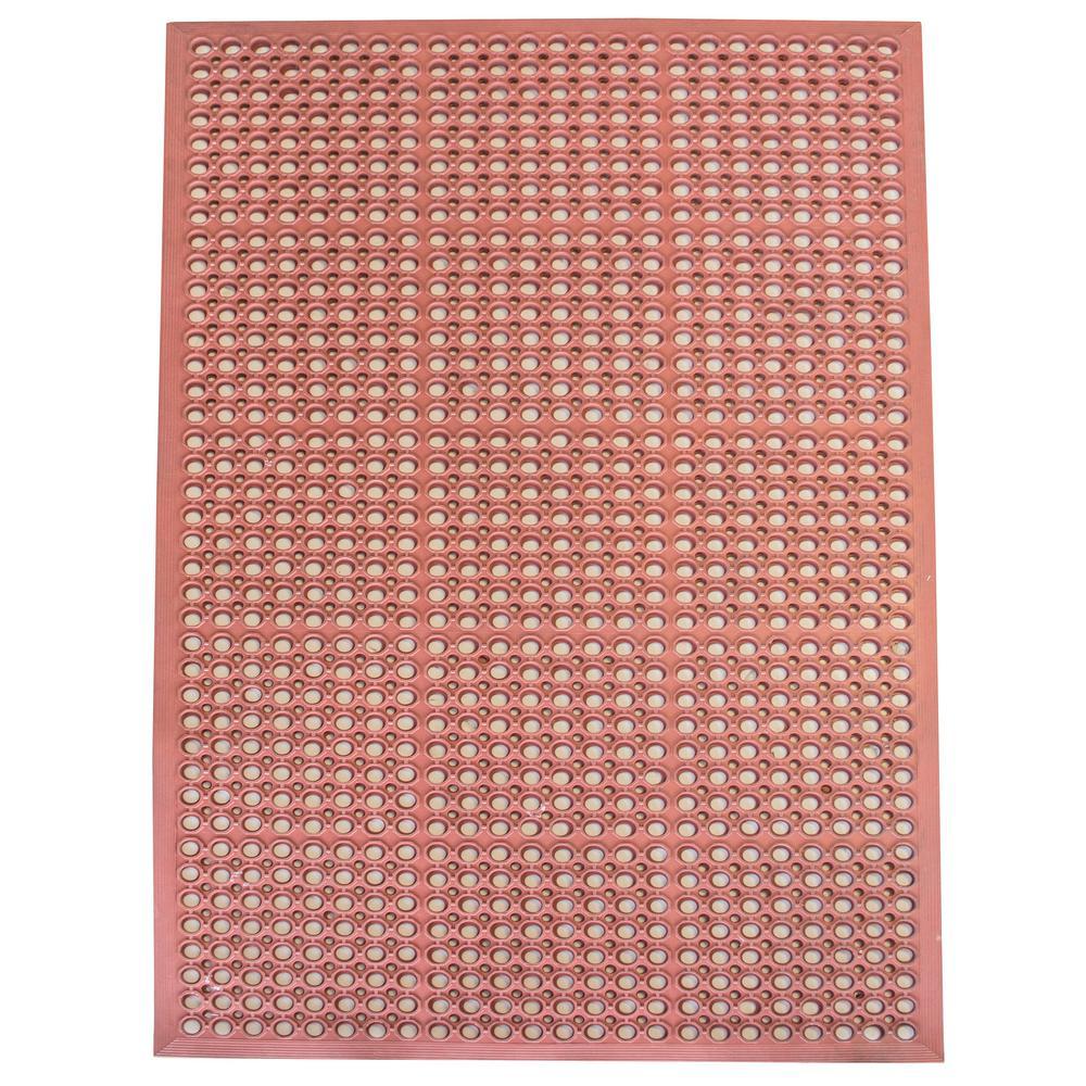 36 in. x 60 in. Industrial Rubber Floor Mat