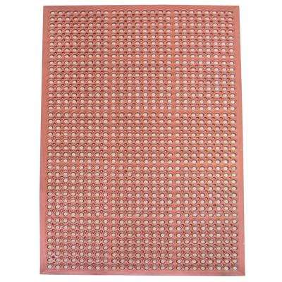 36 in. x 60 in. Industrial Rubber Floor Mat