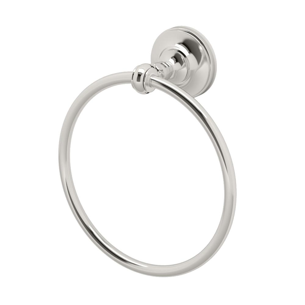 Gatco Tavern Towel Ring in Polished Nickel