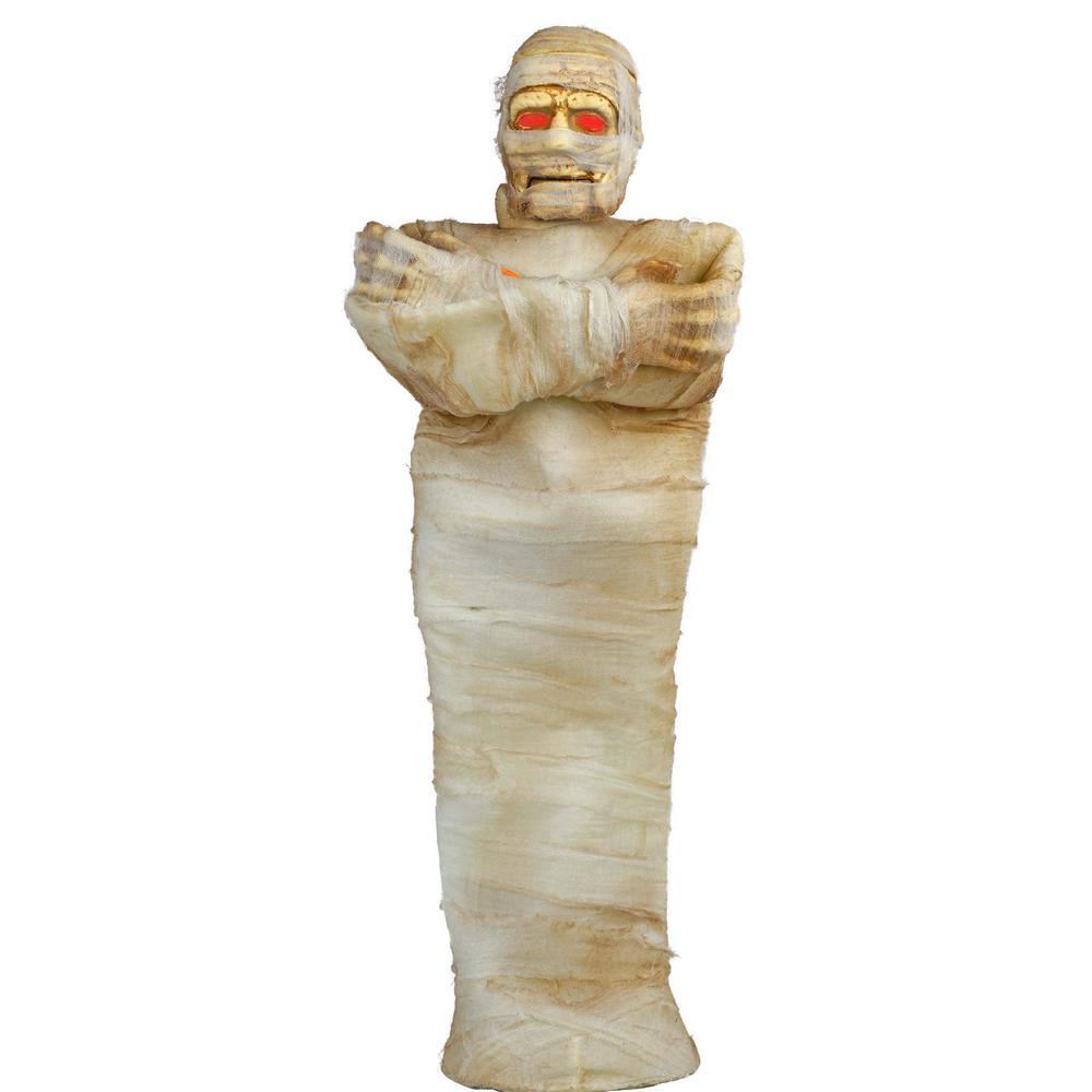 36 in. Animated Mummy with LED Illuminated Eyes