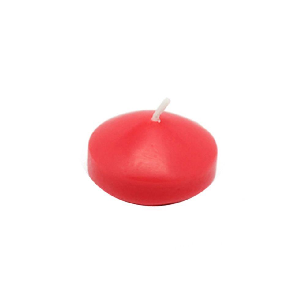 Zest Candle 1.75 in. Ruby Red Floating Candles (Box of 24)