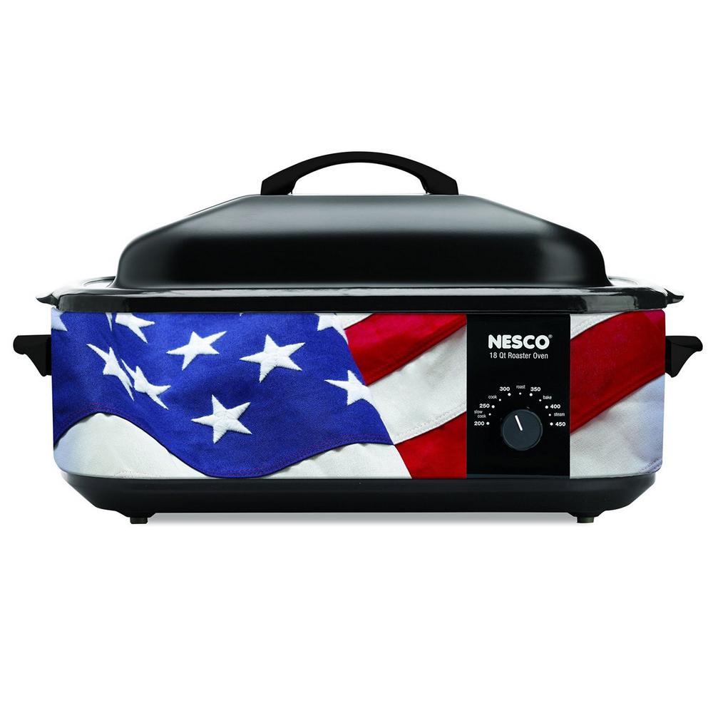 Nesco 18 Qt. Patriotic Roaster by Nesco