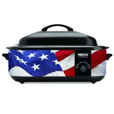 18 Qt. Patriotic Roaster