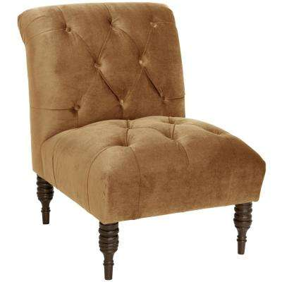 Mystere Moccasin Tufted Chair