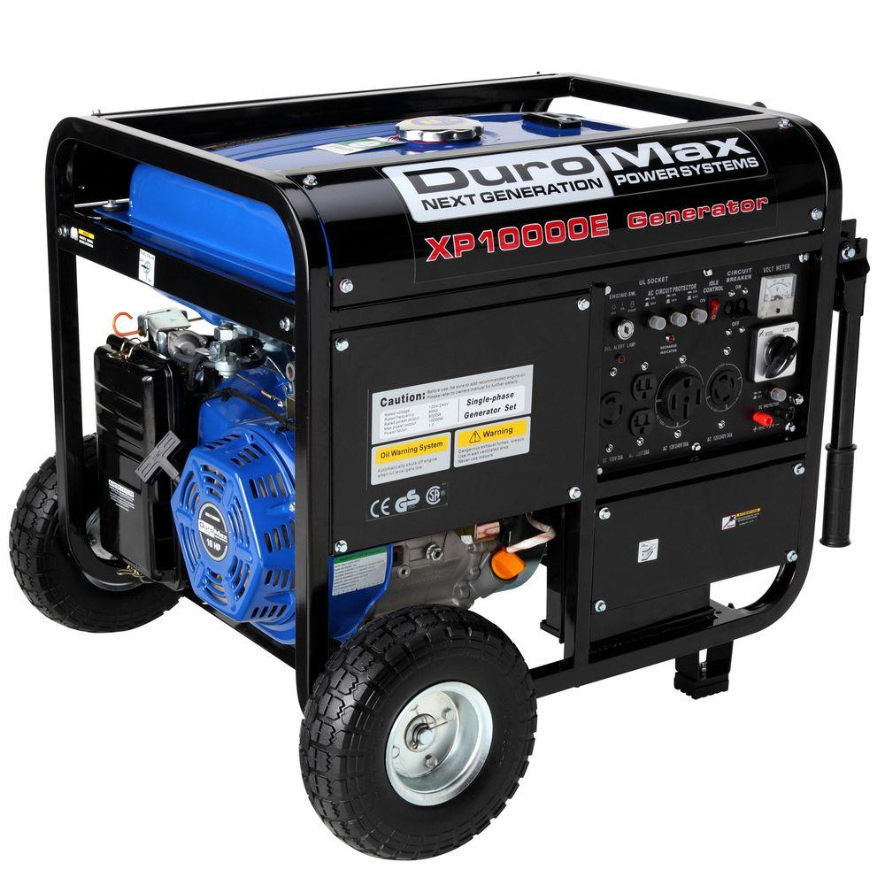 Duromax 8000 Watt Gasoline Powered Electric Start Portable