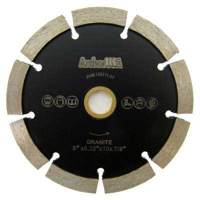 5 in. Tuck Point Diamond Blade for Mortar Removal and Grooving