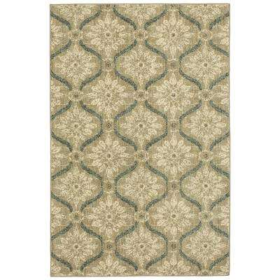 Baltimore Willow Grey 10 ft. x 13 ft. Area Rug