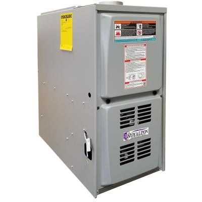 88,000 BTU 80% AFUE Single-Stage Downflow Forced Air Natural Gas Furnace with ECM Blower Motor