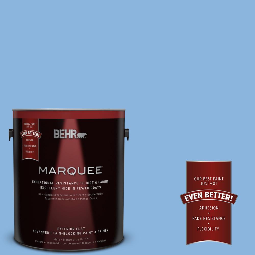 BEHR MARQUEE 1-gal. #570B-4 Bayou Flat Exterior Paint