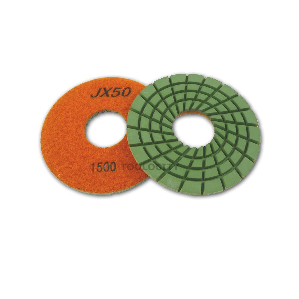 NED NPPP050200 5 x 5//8 Premium Wet Polishing Pad 200 Grit