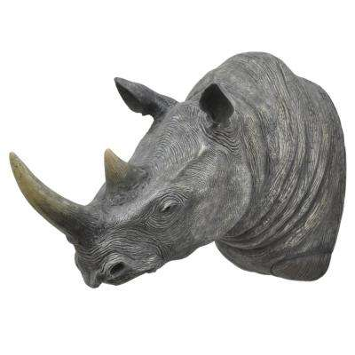 17 in. Rhino Wall Decoration