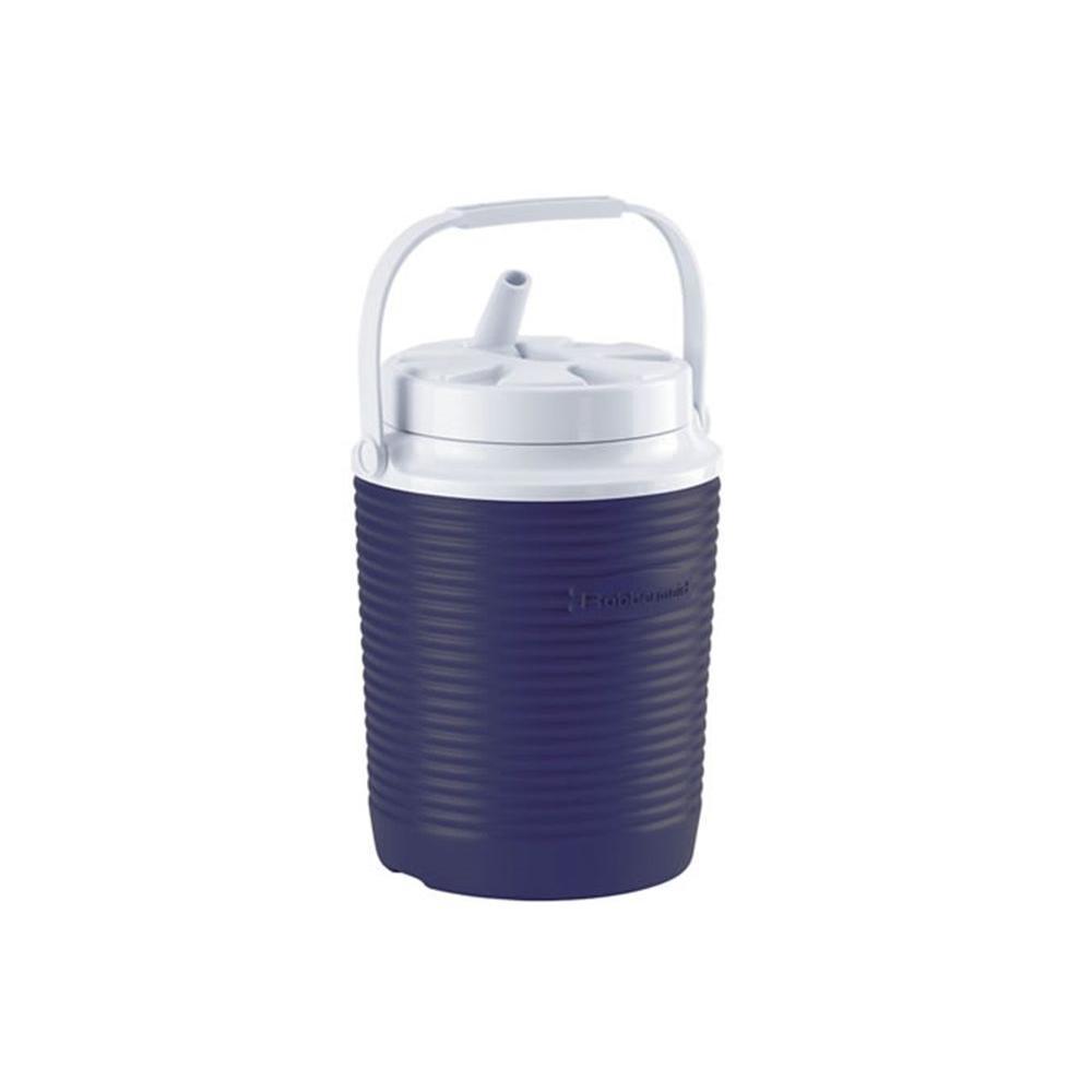 1 Gal. Insulated Modern Blue Water Jug