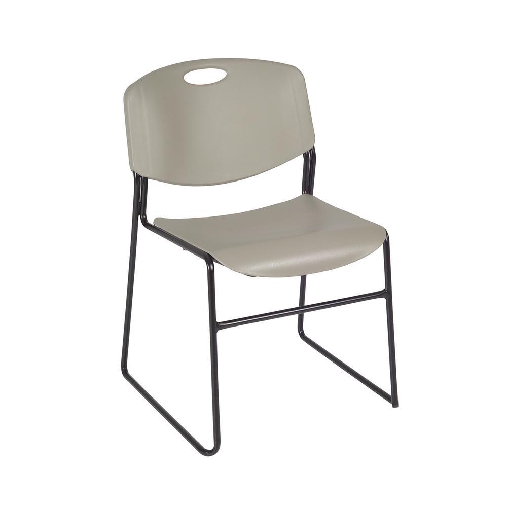 Beautiful Regency Zeng Grey Stack Chair