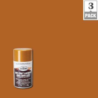 3 oz. Pure Gold Lacquer Spray Paint (3-Pack)