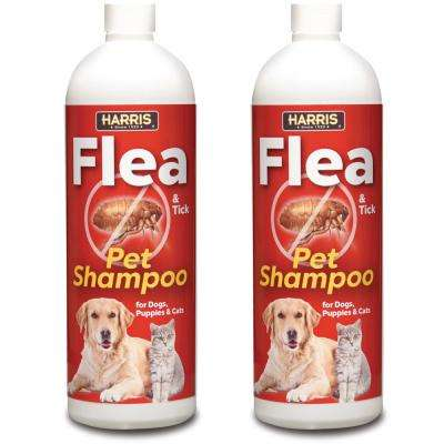 16 Oz. Flea and Tick Pet Shampoo (2-Pack)