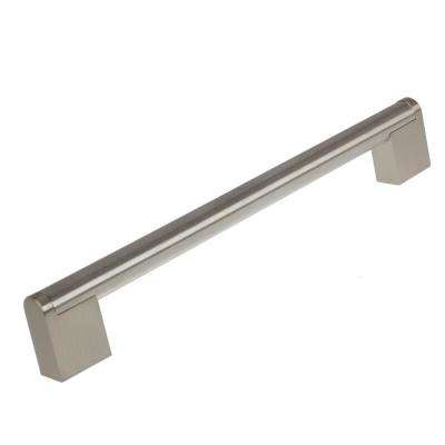 7-5/8 in. Center-to-Center Stainless Steel Finish Round Cross Bar Cabinet Pulls (10-Pack)