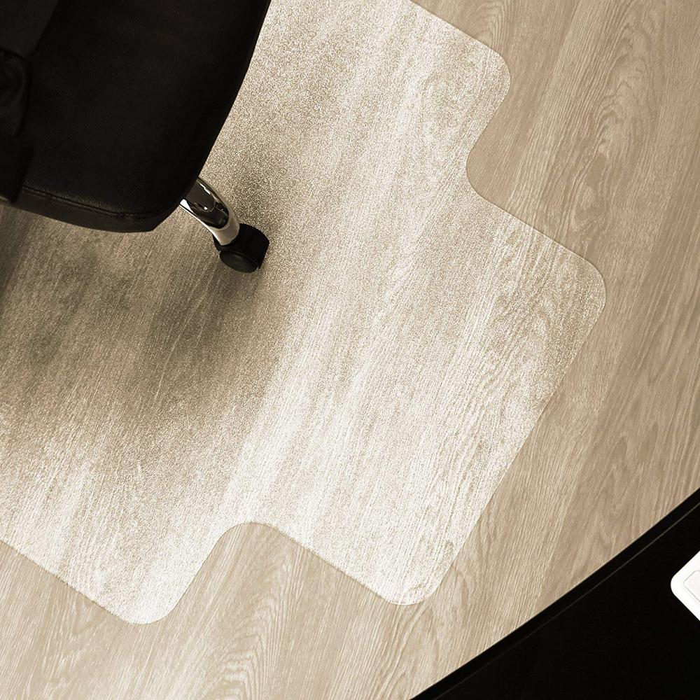 Pvc Wood Carpet Floor Office Chair Mat