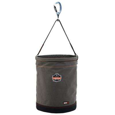 Arsenal 16 in. Tool Bucket Gray Canvas