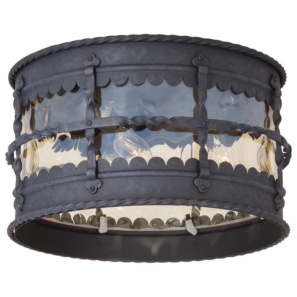 The great outdoors by minka lavery mallorca 3 light spanish iron the great outdoors by minka lavery mallorca 3 light spanish iron outdoor semi flushmount mozeypictures Choice Image