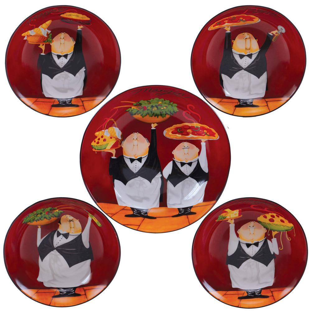 Waiters Salad and Pasta Set