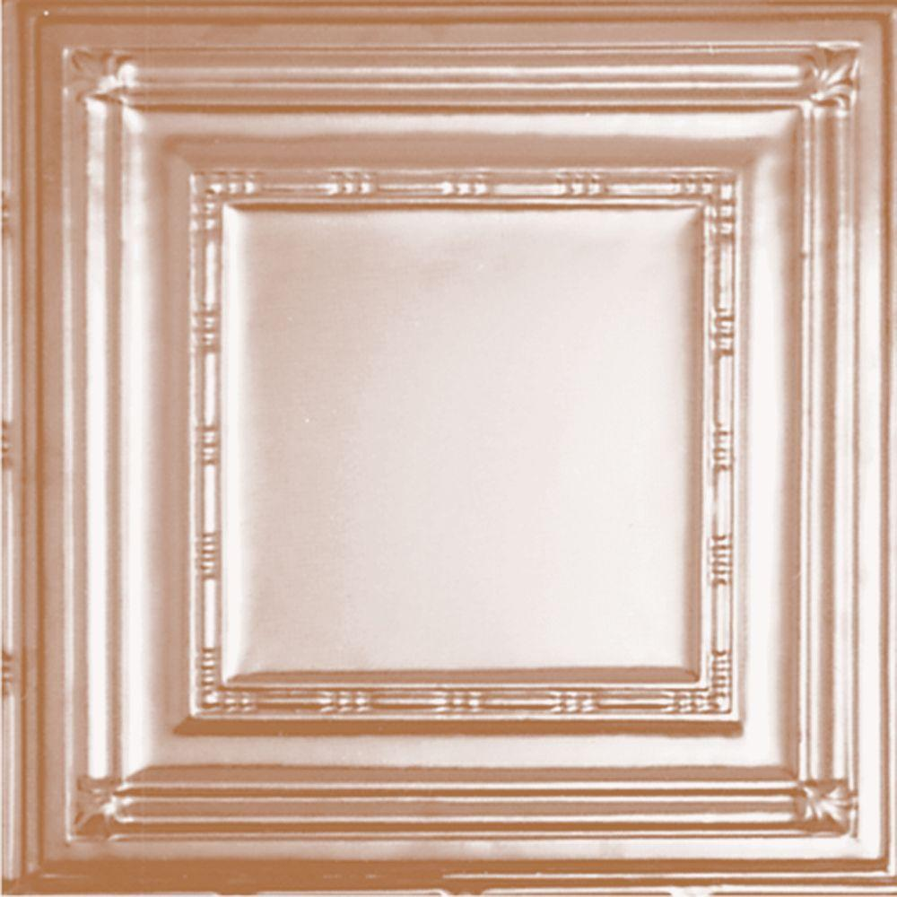 Nexxtech 2 ft. x 2 ft. Lay-in Suspended Grid Tin Ceiling ...