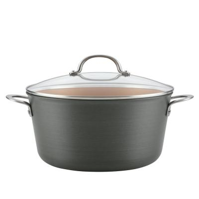 Home Collection 10 Qt. Hard Anodized Aluminum Stockpot