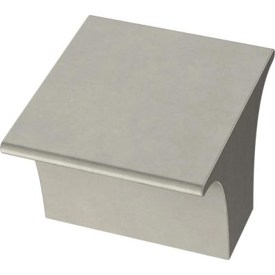 Inclination 1-1/8 in. (28 mm) Satin Nickel Cabinet Knob