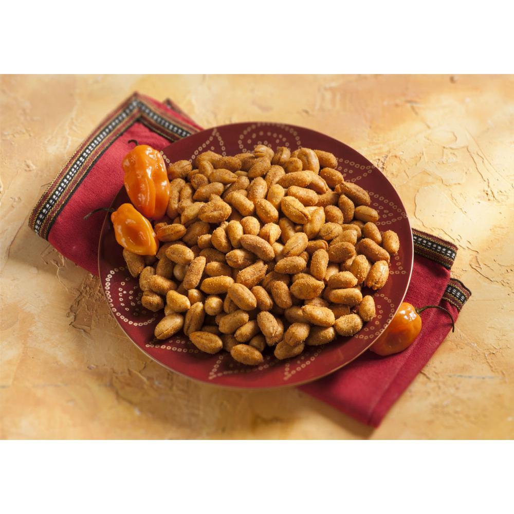 20 oz. Hot Habanero Spiced Chile Pepper Seasoned Peanuts
