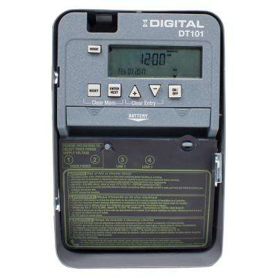 20-Amp 24-Hour SPST 1-Circuit Digital Time Switch with Indoor Enclosure